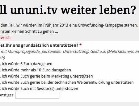 ununi.tv_Umfrage