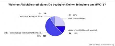 MMC13-Umfrage-Aktivitaet